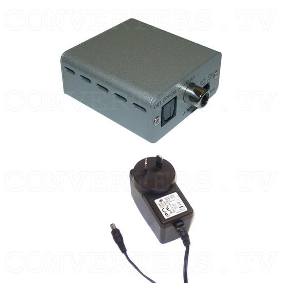 Stereo to SPDIF audio delay Converter Box - Full Kit