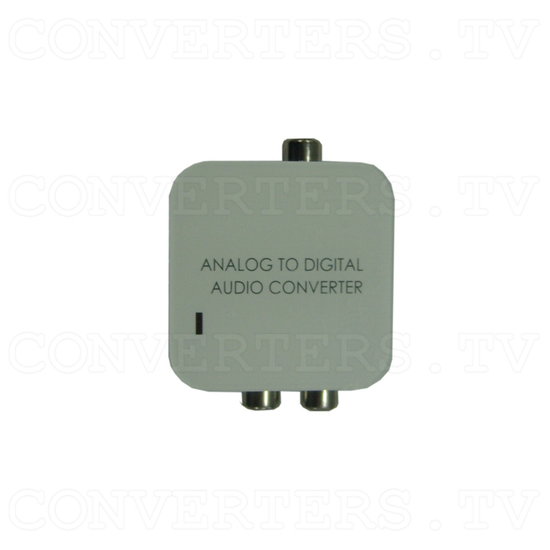 Analog L/R to Digital Audio Converter - Top View