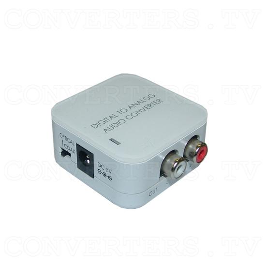 Digital to Analog Audio converter - Full View