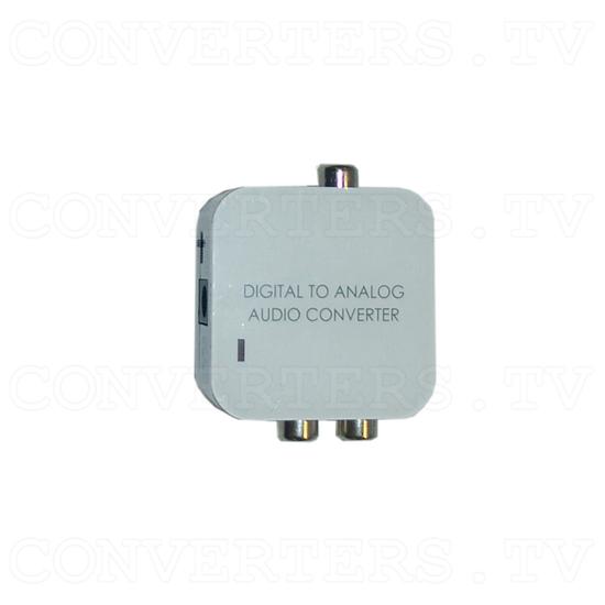 Digital to Analog Audio converter - Top View
