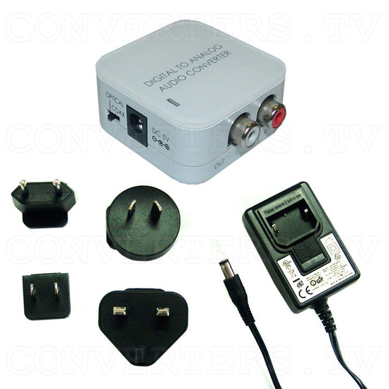 Digital to Analog Audio converter - Full Kit