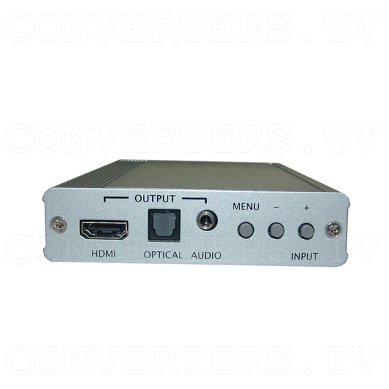 CV/SV to HDMI 1080p Scaler Box - Front View