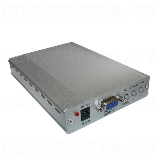 PC-HD to PC-HD Scaler w/PC-HD pass-thru - Full View