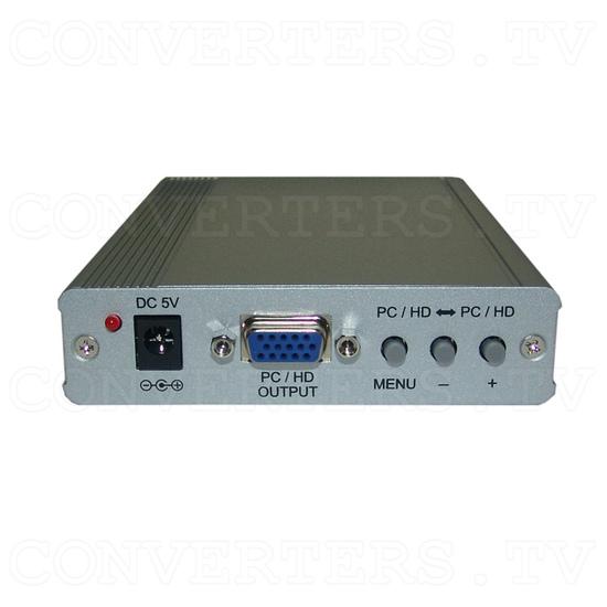 PC-HD to PC-HD Scaler w/PC-HD pass-thru - Front View