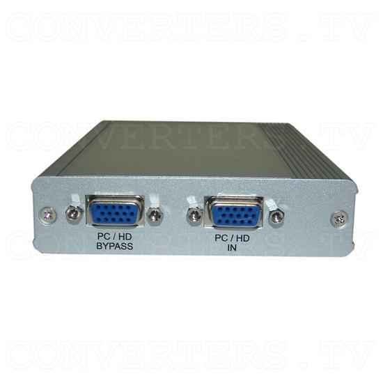 PC-HD to PC-HD Scaler w/PC-HD pass-thru - Back View