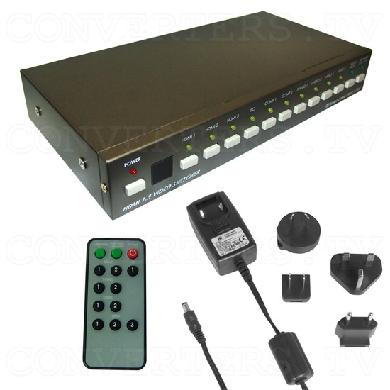 HDMI-Video-PC to HDMI Switcher - Full Kit