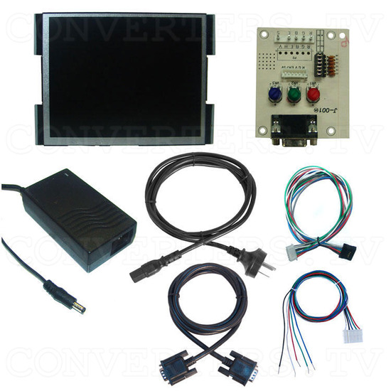 10.4 Inch Delta CGA EGA Multi-Frequency to SVGA LCD Panel - Full Kit
