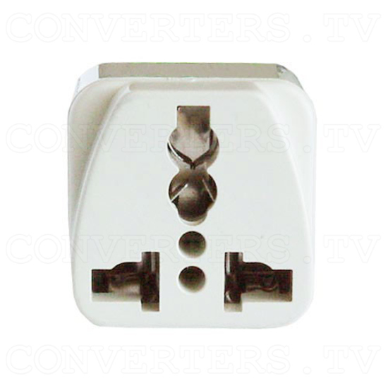 Universal Grounded Wall Outlet Adapter Plug - USA / Canada / Japan - 2