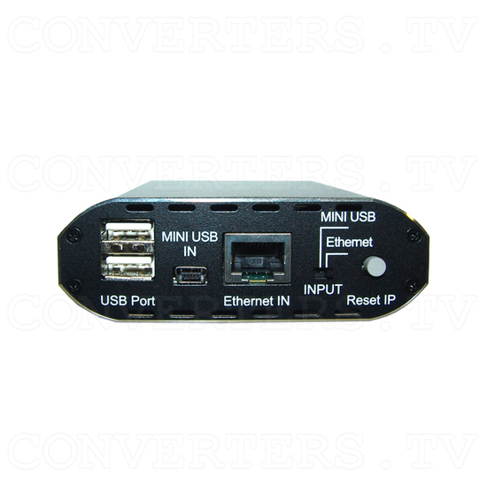 USB to HDMI Converter with RJ45 - Front View