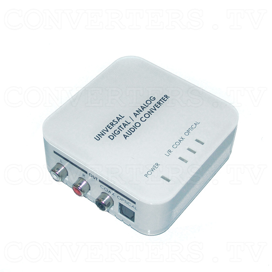 Digital to Analog Two Way Audio Converter - Full View