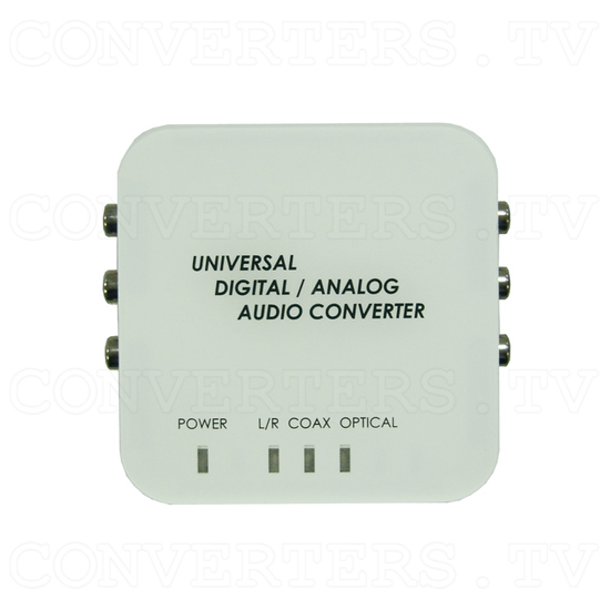 Digital to Analog Two Way Audio Converter - Top View