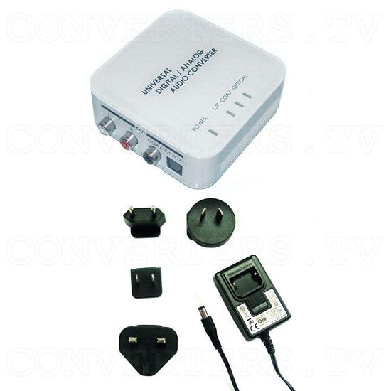 Digital to Analog Two Way Audio Converter - Full Kit