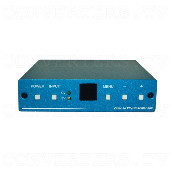 Video to PC/HD Scaler Converter - Front View