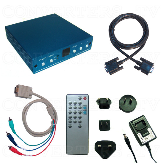 Video to PC/HD Scaler Converter - Full Kit