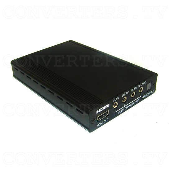 HDMI Repeater 1 In 1 Out with Audio Decoder - Full View