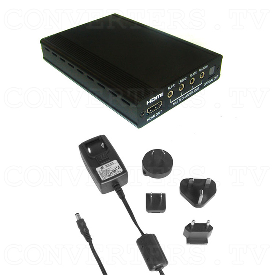 HDMI Repeater 1 In 1 Out with Audio Decoder - Full Kit