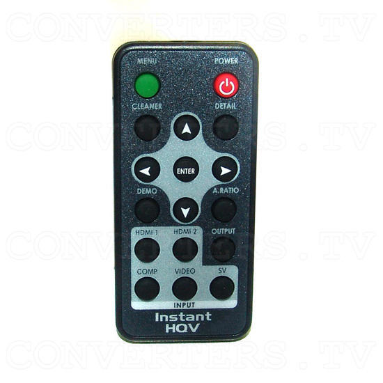 High Definition Scaler with Instant HQV - Remote