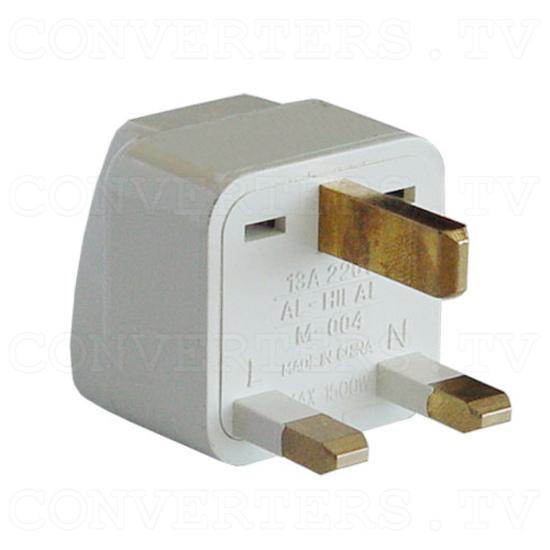Universal Travel Power Plug Adapter UK Model - 3