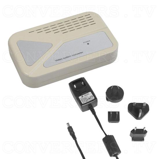 PAL-NTSC-SECAM Video to PAL-NTSC Video Converter - Full Kit
