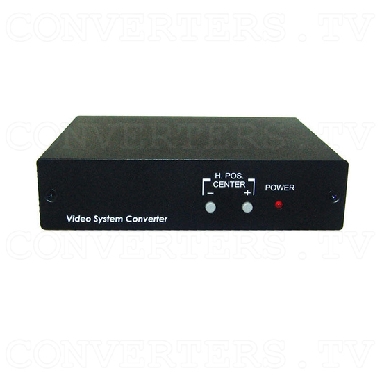 PAL/NTSC Video System Converter - Front View