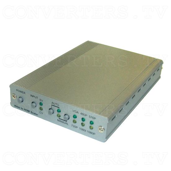 PAL/NTSC Video to HDMI v1.3 HD Scaler Box - Full View