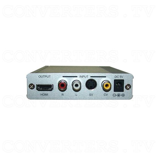 PAL/NTSC Video to HDMI v1.3 HD Scaler Box - Back View