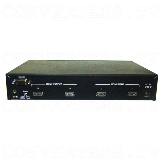 HDMI v1.3 2 In 2 Out Matrix Selector - Back View