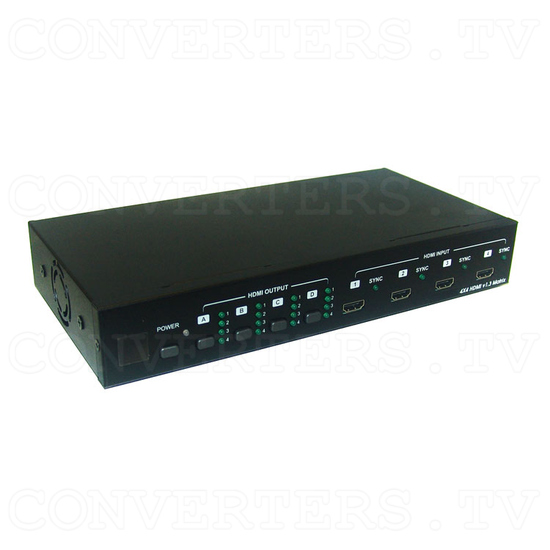 HDMI v1.3 4 In 4 Out Matrix Selector - Full View