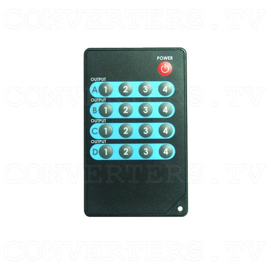 HDMI v1.3 4 In 4 Out Matrix Selector - Remote