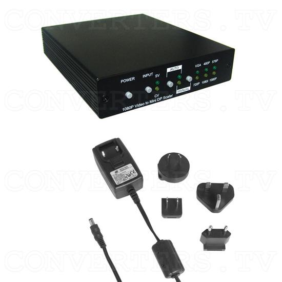 Video to Full HD Mini Display Port Scaler - Full Kit