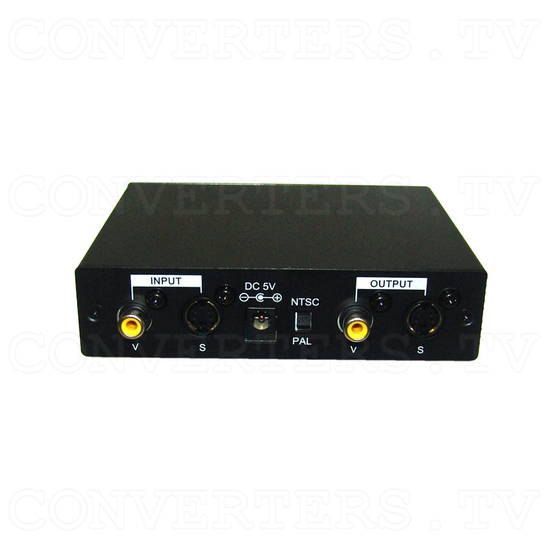 PAL/NTSC Video System Converter - Back View