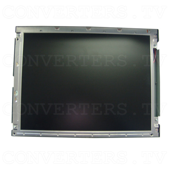 15 Inch CGA EGA VGA to XGA Wide Viewing-Angle LCD Monitor - Front View