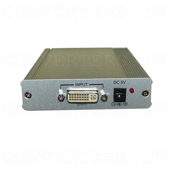 DVI-I to Component (HD) Scaler Box - Back View