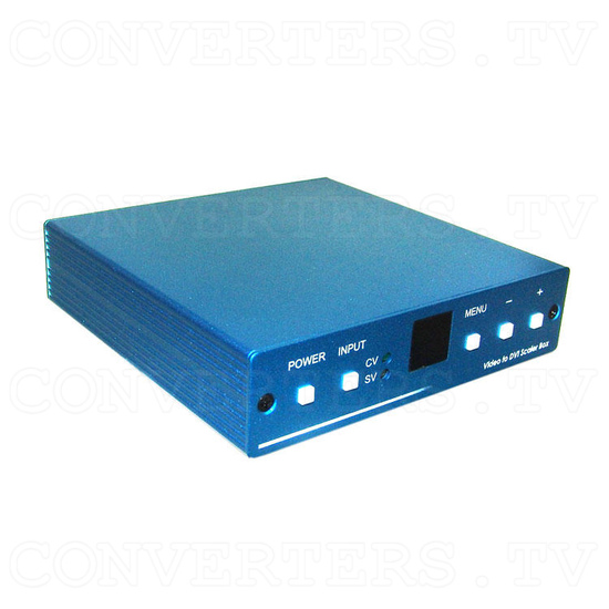 Video to DVI 1080p Scaler Box - Full View