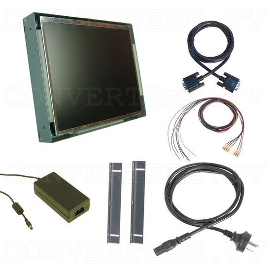 12.1 Inch CGA EGA VGA to SVGA LCD Panel (Wide Viewing Angle) - Full Kit