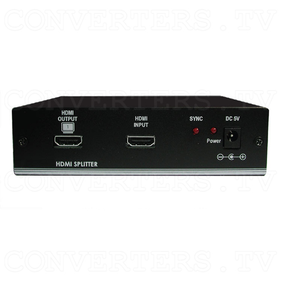 HDMI Splitter 1 In 4 Out - Front View