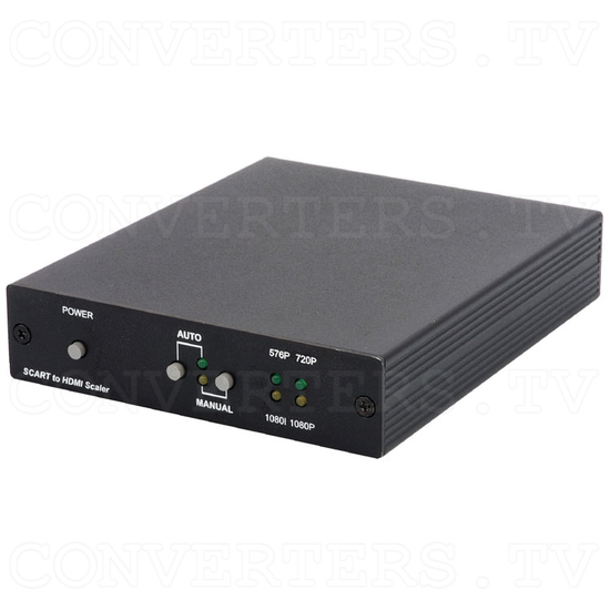 SCART to HDMI v1.3 Scaler Box - Full View