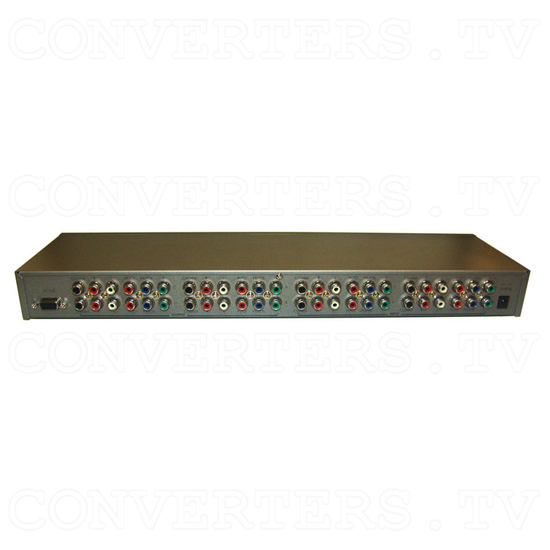 Component 4 In 4 Out Matrix with Digital and Analog Audio - Back View