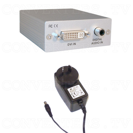 DVI to HDMI Converter with Digital Audio - Full Kit