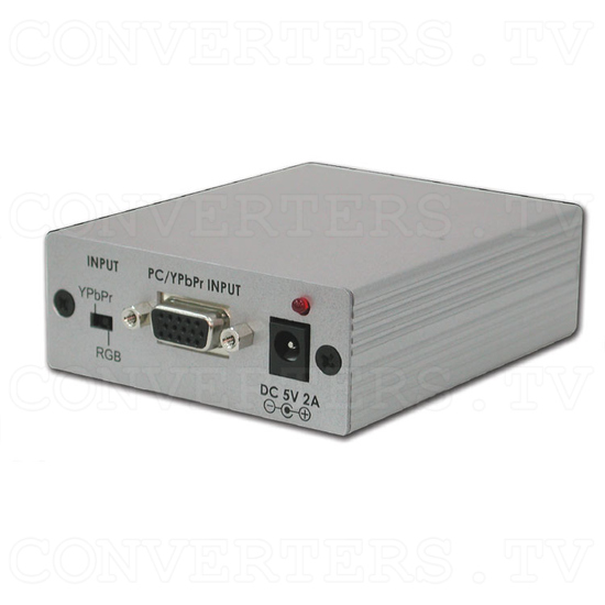 PC/HD With Audio to HDMI Format Converter - Full View