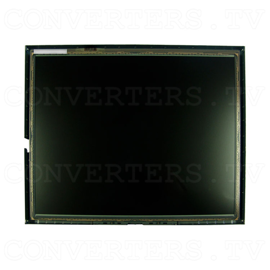 17 Inch LCD Touchscreen CGA EGA VGA Monitor - Front View