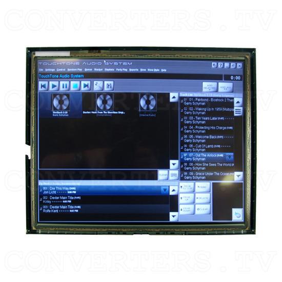 17 Inch LCD Touchscreen CGA EGA VGA Monitor - Front View 1