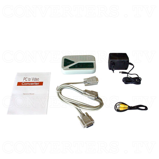 VGA to PAL Video Convertor / Converter (CPT-350) - Full Kit