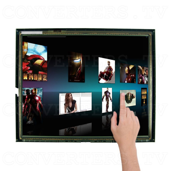 17 Inch LCD Touchscreen CGA EGA VGA Monitor - Compatible with many Applications