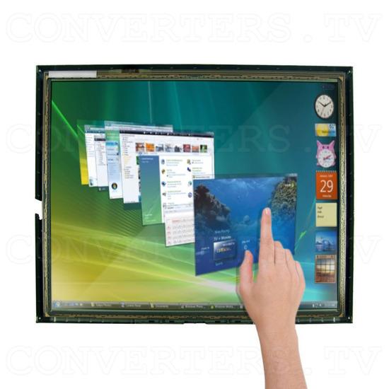 17 Inch LCD Touchscreen CGA EGA VGA Monitor - Application: PC