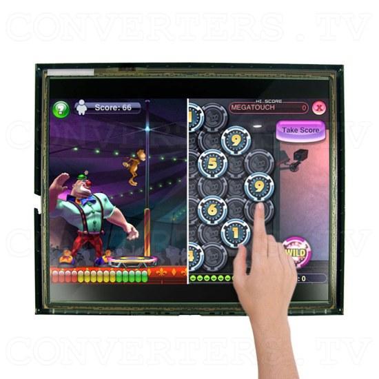 17 Inch LCD Touchscreen CGA EGA VGA Monitor - Application: Arcade Games