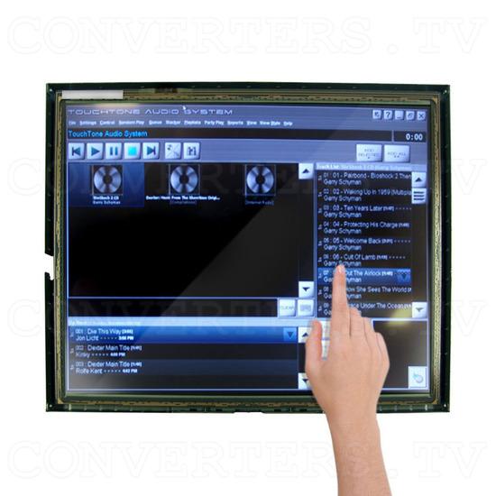 17 Inch LCD Touchscreen CGA EGA VGA Monitor - Application: Jukebox