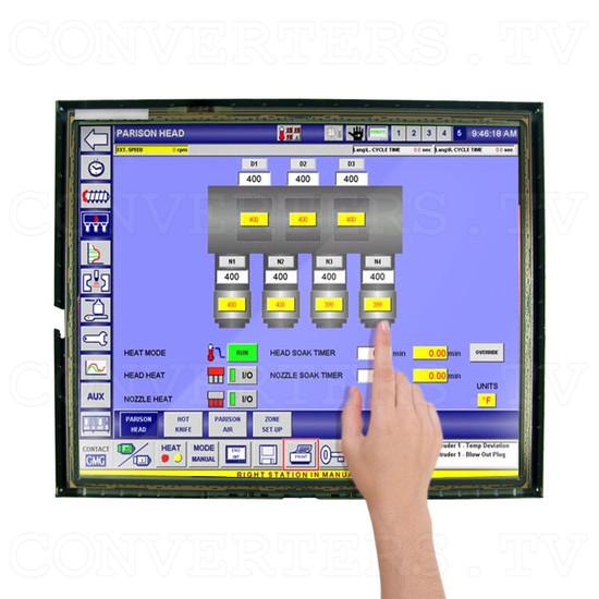 17 Inch LCD Touchscreen CGA EGA VGA Monitor - Application: CNC Machinery