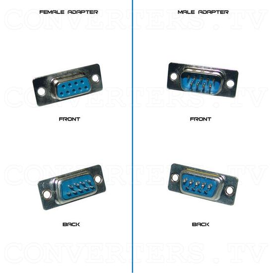 RGB, MDA, CGA, EGA to VGA Converter - Adapter