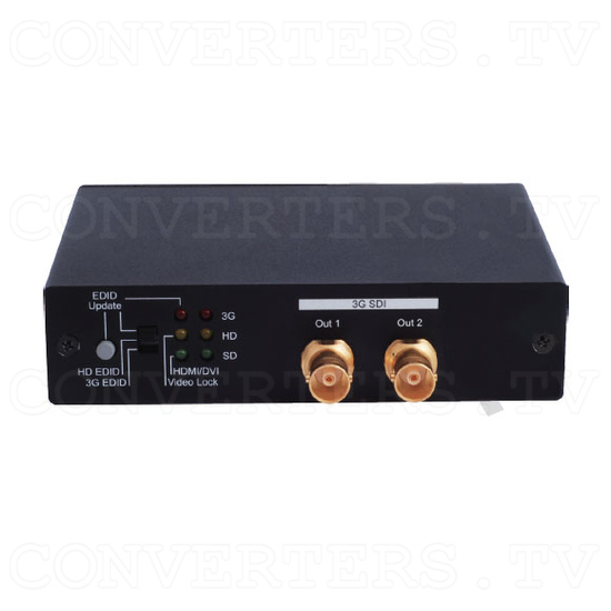 HDMI to 3G SDI Dual Output Converter - Front View